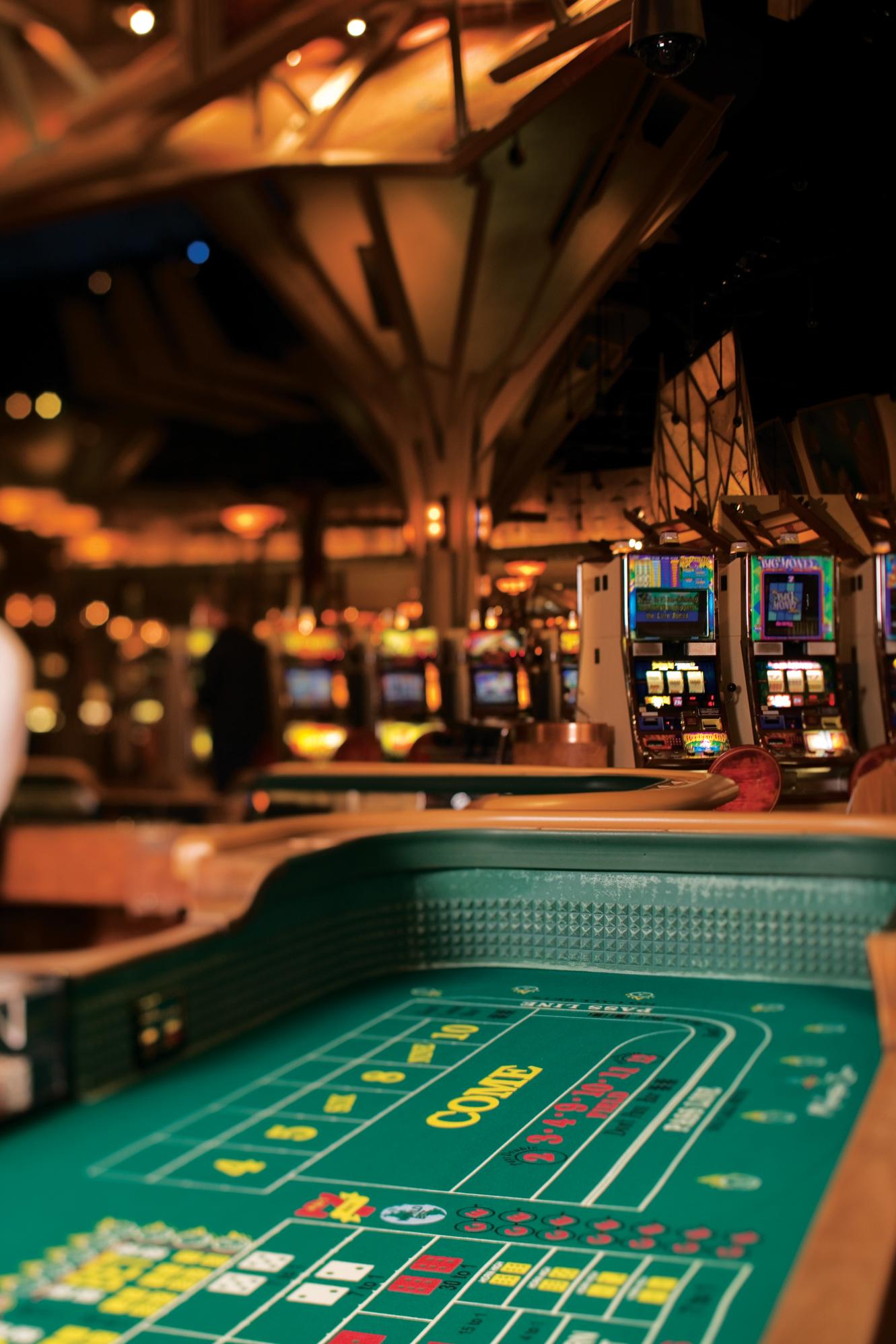 Government gambling machines