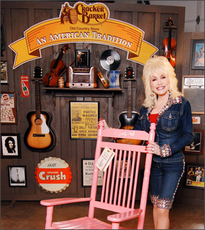 Dolly cracker barrel