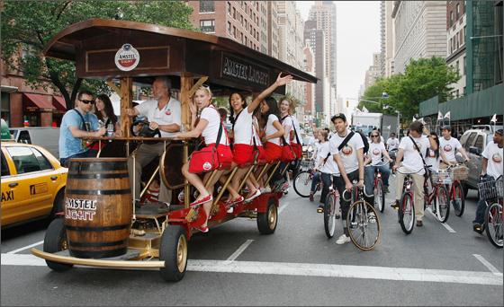 Amstel-beer-bike