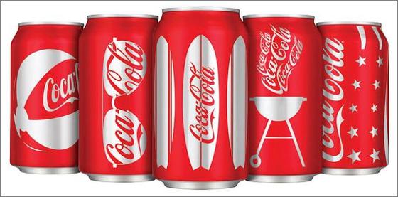 Coke-cans