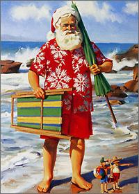 Summer-santa