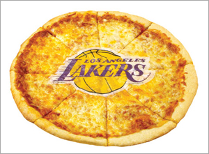 Lakers-pizza