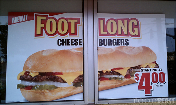 Footlong-cheeseburger