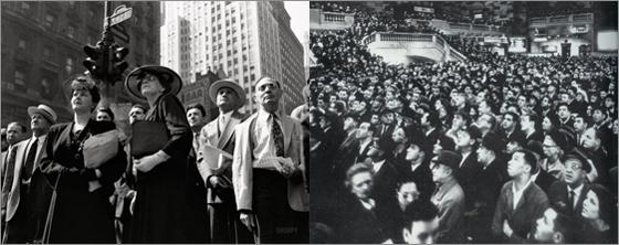 Vinrage-crowds